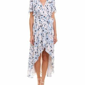 Parker High Low Blue Juliet Dress sz. Small